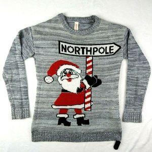 Ugly Christmas Sweater North Pole Santa